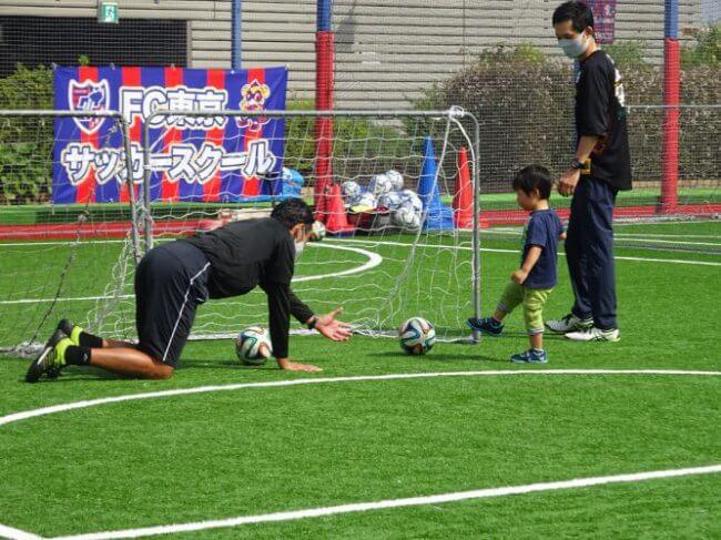 2年と親子サッカー教室☆の画像